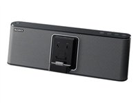 Sony RDP-M15IPB - Speaker dock - with Apple cradle - For Portable use - 20 Watt (Total) - for Apple iPhone 3G, 3GS, 4, 4S; iPod classic; iPod nano; iPod touch (1G, 2G, 3G, 4G) RDPM15iPB.CEK