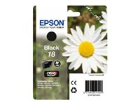 C13T18014010 - Epson 18 - Black - original - ink cartridge - for Expression Home XP-212, 215, 225, 312, 315, 322, 325, 412, 415, 422, 425 C13T18014010