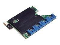 AXXRMS2AF080 - Intel Integrated RAID Module RMS2AF080 - Storage controller (RAID) - 8 Channel - SATA 3Gb/s / SAS 6Gb/s - 6 GBps - RAID 0, 1, 5, 10, 50 - PCIe 2.0 x4 - for Server Board S5520; Server System SC5650, SR1630, SR1695; Workstation System SC5650 AXXRMS2AF080