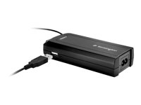 K38085EU - Kensington Toshiba Family Laptop Charger with USB Power Port - Power adapter - 90 Watt - United Kingdom, Europe K38085EU
