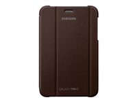 EFC-1G5SAEC - Samsung EFC-1G5S - Protective cover for tablet - amber brown - for Samsung Galaxy Tab 2 (7.0), Galaxy Tab 2 (7.0) WiFi EFC-1G5SAEC