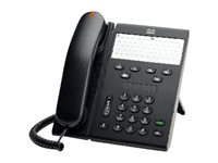 Cisco Unified IP Phone 6911 Slimline - VoIP phone - SCCP - charcoal CP-6911-CL-K9=