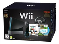 Nintendo Wii - Mario Kart Wii Pack - Game console - black - with Wii Balance Board 2101046