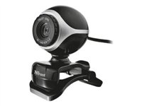 Trust Exis Webcam - Web camera - colour - audio - Hi-Speed USB 17003