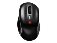 Gigabyte Aire M77 Must-Have Wireless Optical Mouse - Mouse - optical - 6 button(s) - wired - USB - shiny black 28713-ARM77-0PBS